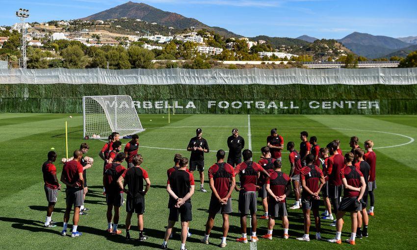 تدريبات ليفربول استعداداً لنهائي دوري ابطال اوروبا