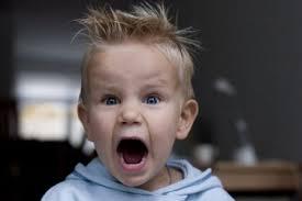 نوبات غضب الاطفال
