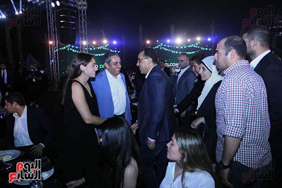 رئيس الوزراء يصل حفل تطوير مشروع حديقة الشيخ زايد (3)