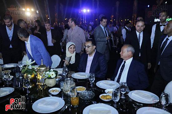 رئيس الوزراء يصل حفل تطوير مشروع حديقة الشيخ زايد (4)