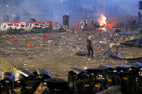 تجدد الاشتباكات فى إندونيسيا (2)