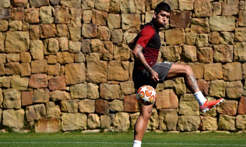 تدريبات ليفربول استعداداً لنهائي دوري ابطال اوروبا (8)