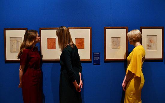 معرض ليوناردو دافنشى فى قصر باكنجهام