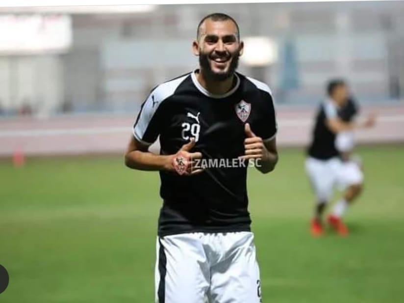 خالد بوطيب فى التمرين