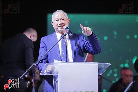رئيس الوزراء يصل حفل تطوير مشروع حديقة الشيخ زايد (13)