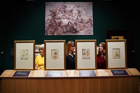 إبداعات الفنان الإيطالى ليوناردو دافنشى