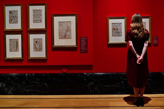 معرض لأعمال دافنشى بعد 500 عام على وفاته
