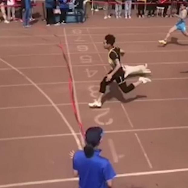 الكلب فى السباق