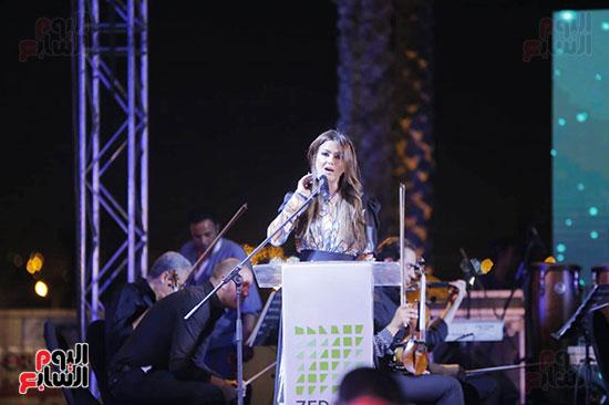رئيس الوزراء يصل حفل تطوير مشروع حديقة الشيخ زايد (10)