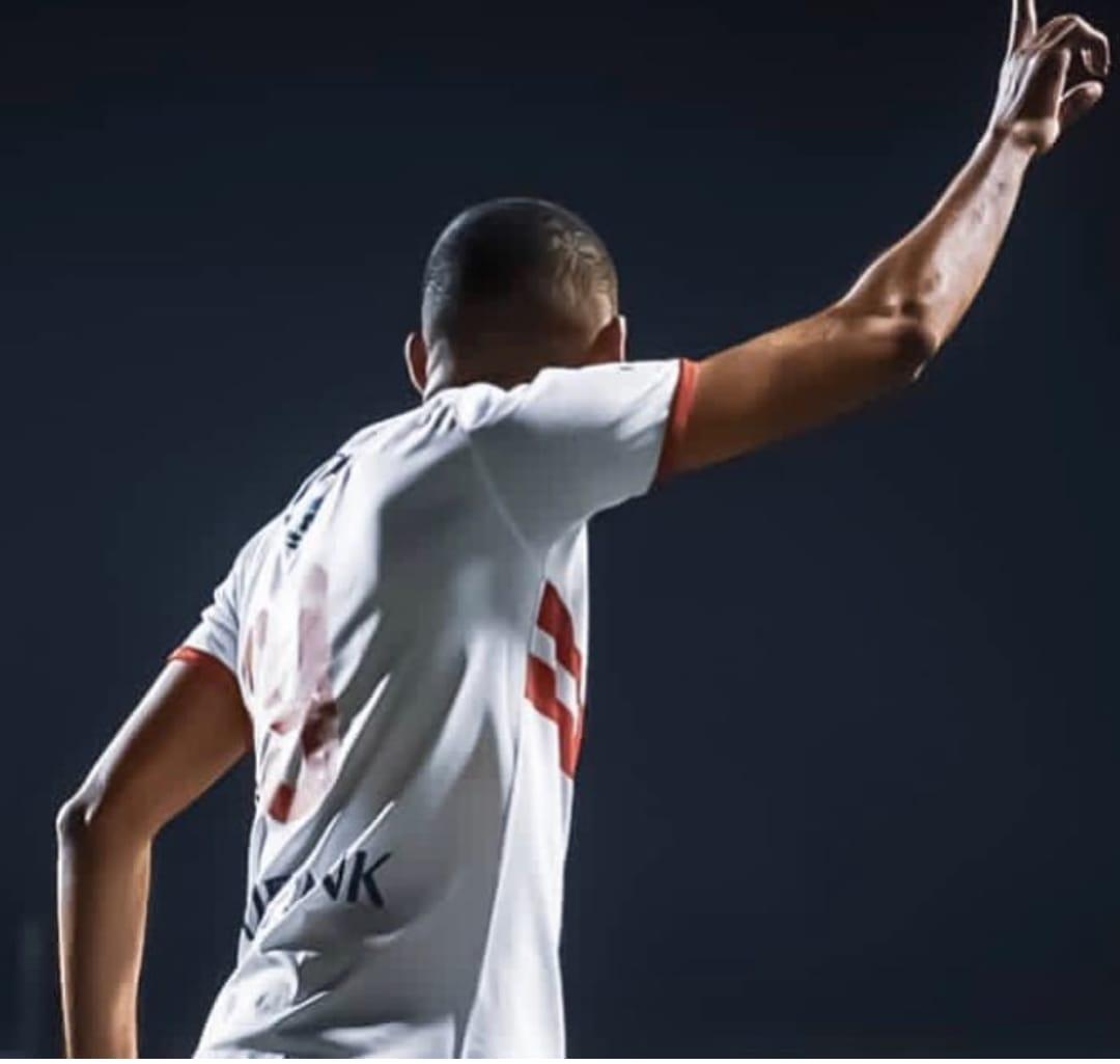 خالد بو طيب بقميص الزمالك