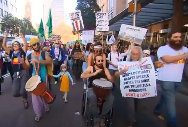 مظاهرات للحفاظ على البيئة