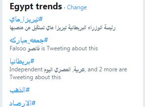 الترند المصرى
