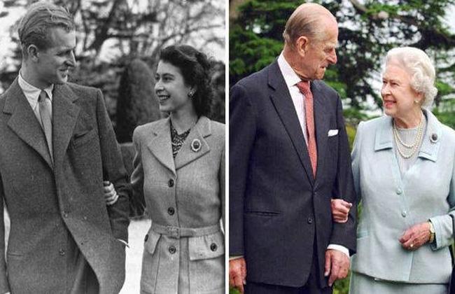 الملكة اليزابيث وزوجها (4)