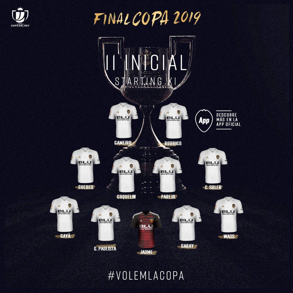 تشكيل فالنسيا ضد برشلونة
