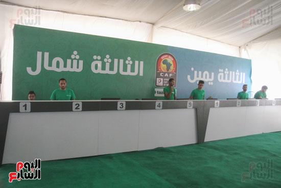 استلام تذاكر مبارايات كأس الأمم الأفريقية من منافذ تذاكر (7)