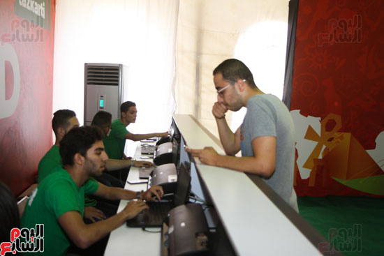 تسليم الـFAN ID وتذاكر أمم أفريقيا بمركز شباب الجزيرة (10)