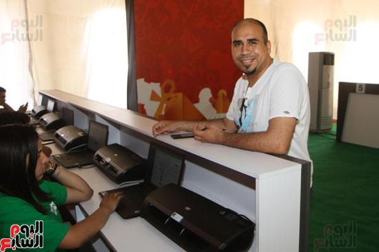 تسليم الـFAN ID وتذاكر أمم أفريقيا بمركز شباب الجزيرة (3)