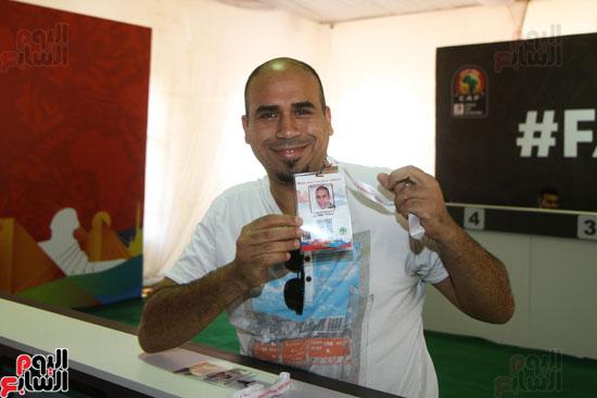 تسليم الـFAN ID وتذاكر أمم أفريقيا بمركز شباب الجزيرة (4)