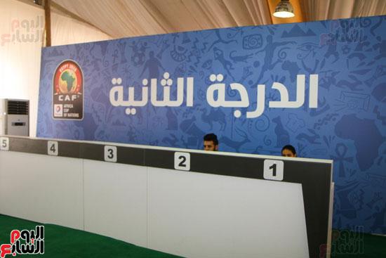 تسليم الـFAN ID وتذاكر أمم أفريقيا بمركز شباب الجزيرة (7)
