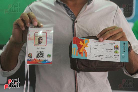 استلام تذاكر مبارايات كأس الأمم الأفريقية من منافذ تذاكر (16)