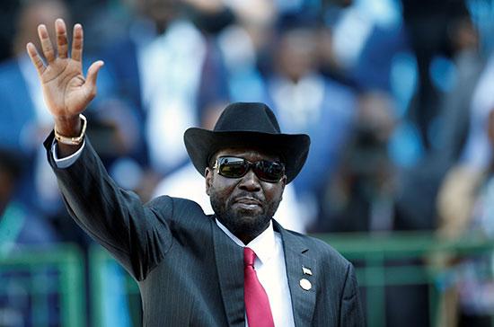 حضور رئيس جنوب السودان
