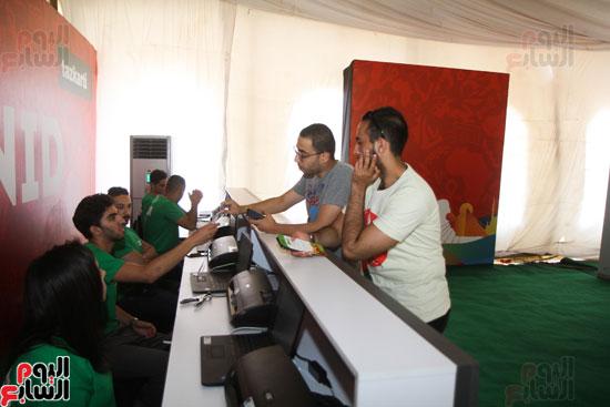 تسليم الـFAN ID وتذاكر أمم أفريقيا بمركز شباب الجزيرة (12)