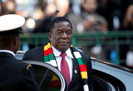حصور رئيس موزمبيق