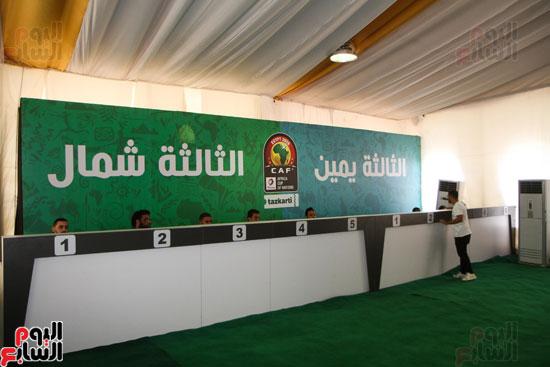 تسليم الـFAN ID وتذاكر أمم أفريقيا بمركز شباب الجزيرة (6)