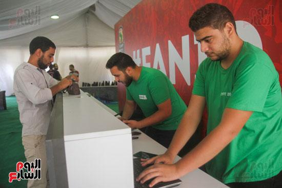 استلام تذاكر مبارايات كأس الأمم الأفريقية من منافذ تذاكر (13)