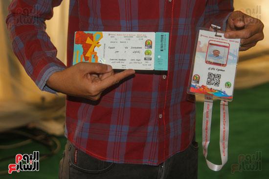 استلام تذاكر مبارايات كأس الأمم الأفريقية من منافذ تذاكر (20)