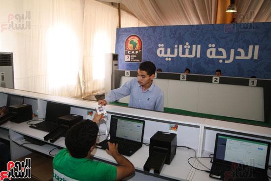 تسليم الـFAN ID وتذاكر أمم أفريقيا بمركز شباب الجزيرة (21)
