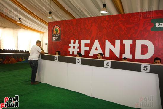 تسليم الـFAN ID وتذاكر أمم أفريقيا بمركز شباب الجزيرة (2)