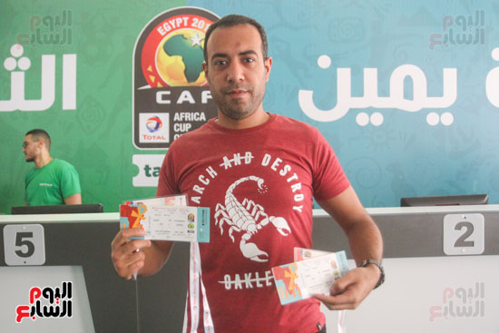 استلام تذاكر مبارايات كأس الأمم الأفريقية من منافذ تذاكر (15)