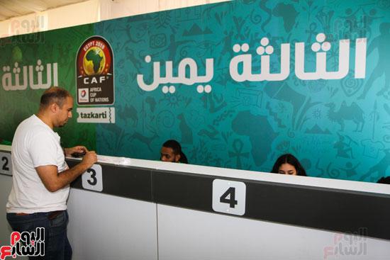 تسليم الـFAN ID وتذاكر أمم أفريقيا بمركز شباب الجزيرة (8)
