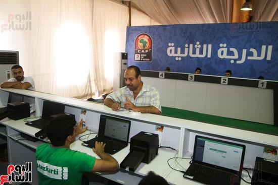تسليم الـFAN ID وتذاكر أمم أفريقيا بمركز شباب الجزيرة (15)
