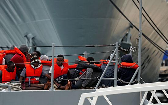 عمليات إنقاذ المهاجرين