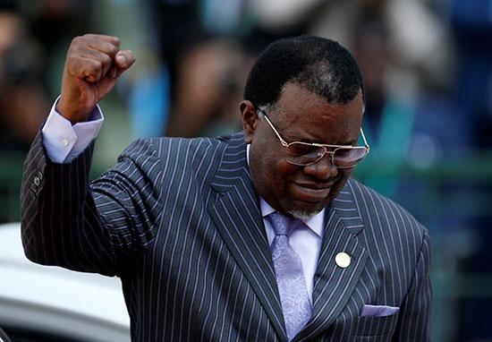 حضور رئيس ناميبيا