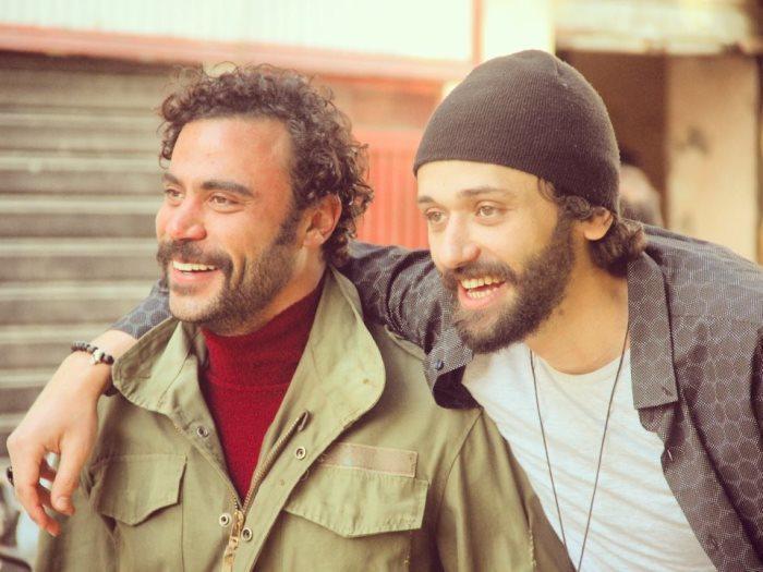 كريم محمود عبد العزيز ومحمد إمام في مسلسل هوجان