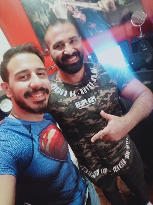 مونتي  وأحمد سعد