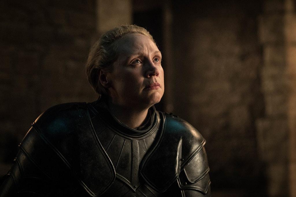 Gwendoline Christie Brienne of Tarth in Game of Thrones