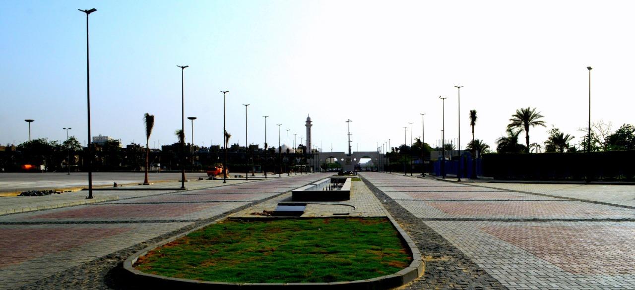 مدخل إستاد القاهرة