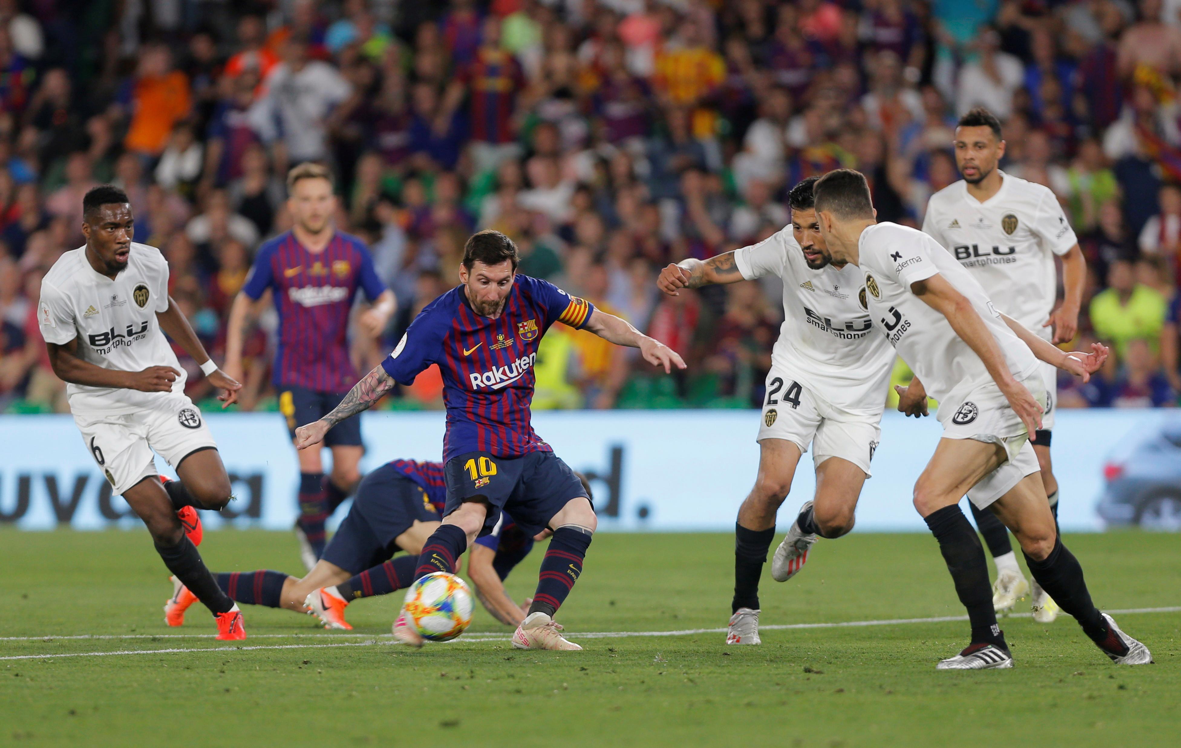 برشلونة ضد فالنسيا  (7)