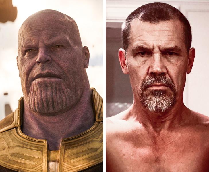 Thanos - جوش برولين