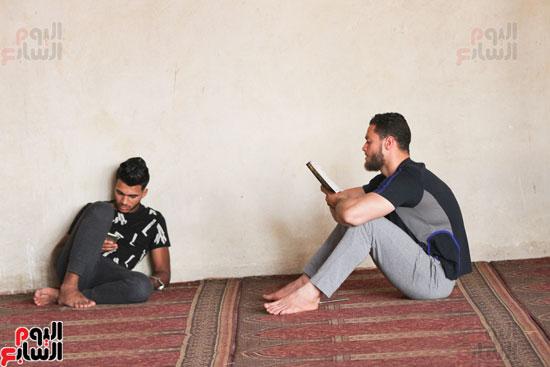 المعتكفون بمسجد عمرو بن العاص (10)