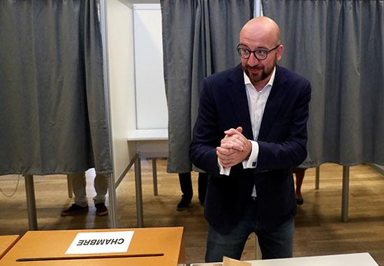 رئيس الوزراء البلجيكى