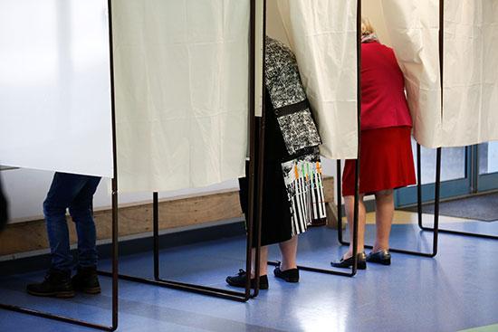 جانب من التصويت