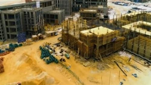 إنشاءات جامعة الجلالة الجديدة