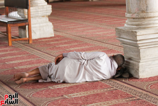 المعتكفون بمسجد عمرو بن العاص (5)