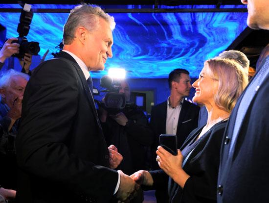 فرحة جيتاناس نوسيدا رئيس ليتوانيا