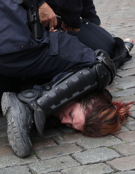 عف الشرطة البلجيكية
